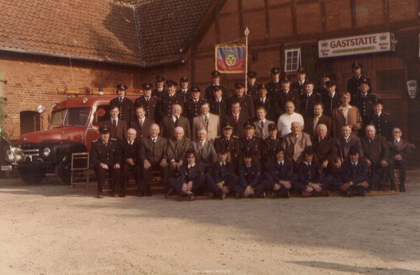 Gruppenfoto 1974